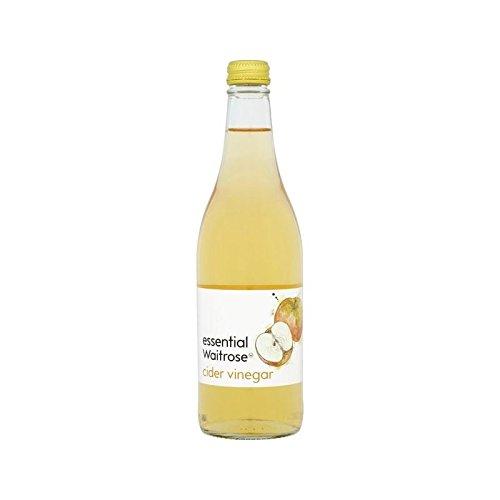 Vinaigre De Cidre Waitrose Essentielle 500Ml - Paquet de 2