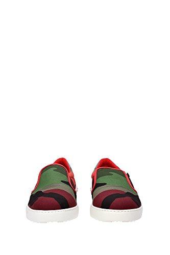 KY0S0835TPR202 Valentino Garavani Pantoufle Homme Tissu Multicouleur Multicouleur