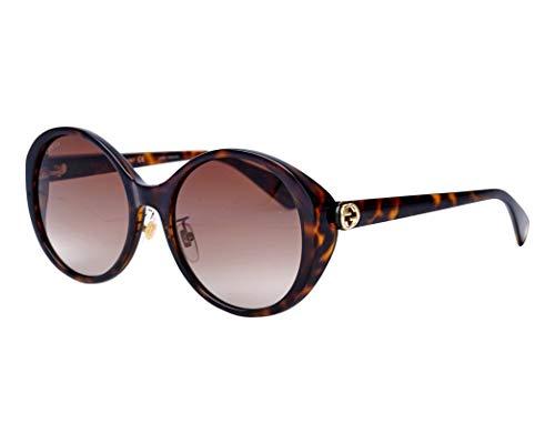 Gucci Sonnenbrillen (GG-0370-SK 002) dunkel havana - grau-braun verlaufend