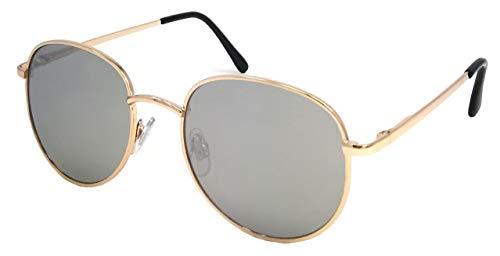 Young Spirit Verspiegelte Damen Sonnenbrille/Runde Sonnenbrille für kleine, schmale Köpfe F2505649