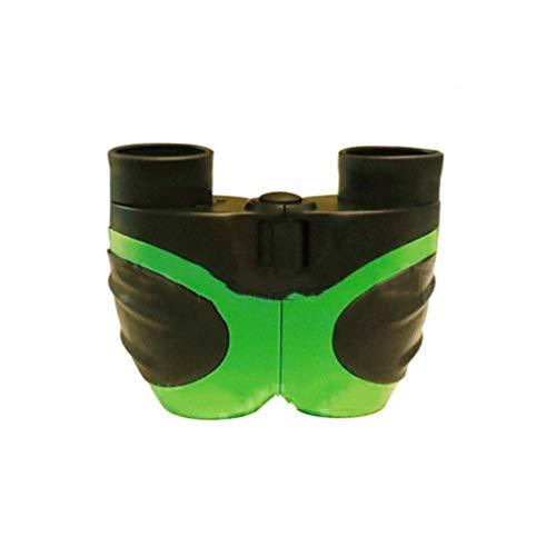 YM09 Praktisch und bequem Mini Handheld Teleskop Lupe 8X Tragbare Lupe Zum Lesen Nachtsicht HD Schafe Legen Ferninspektion Ältere Kinder Gelb Blau Grün Rot Lupe (Color : Green) -