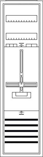 Striebel&John Schrank komplett KS200 1/3A 1Z A Zähler-Komplettschrank 4011617358688 -