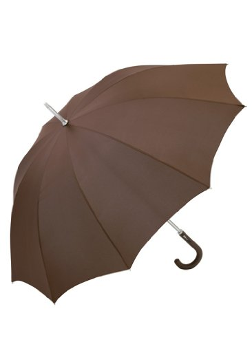 ALU LIGHT 10 Midsize Regenschirm, Farbe:Brown;Größe:Durchmesser 115 cm