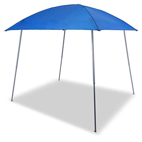 Gutgojo Verbessertes Pavillon 3×3m Faltpavillon Faltzelt Sonnenschutz Wasserdicht Gartenzelt Sehr Einfache Montage Wasser Nicht Leicht Ansammeln (Blau)