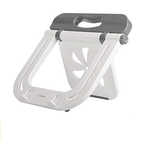 ltbjbzj Notebook Ständer Halswirbel Desktop erhöhen Büro Laptop Halterung Lift Kühler Regal Basis Kissen einfache tragbare vertikale Faltbare Lazy Support Frame