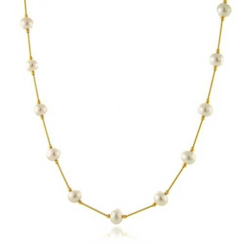 bling-jewelry-14k-yellow-gold-hollow-center-bar-link-freshwater-cultured-pearl-tin-cup-necklace