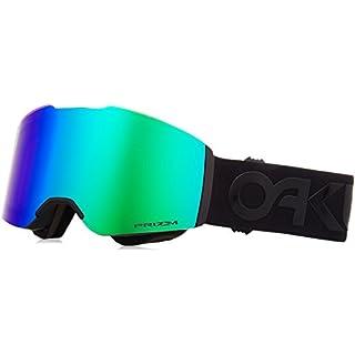 Oakley Unisex-Erwachsene Sportbrille Fall Line 708513 0, Schwarz (Factory Pilot Blackout/Prizmsnowjadeiridium), 99