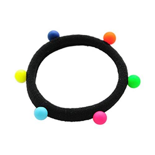 il cerchio fatto dalla Fondazione selvatica/Banda di capelli bella palla di colore/ stringa/ rubber band diadema-A