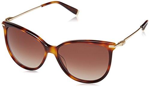 Max Mara Damen Sonnenbrille mm Modern III J6 5FC, Schwarz (Dark Havana Black/Brown Sf), 57