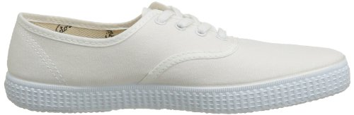 Inconnu Inglesa Lona, Baskets Basses Mixte Adulte Blanc (20 Blanco)
