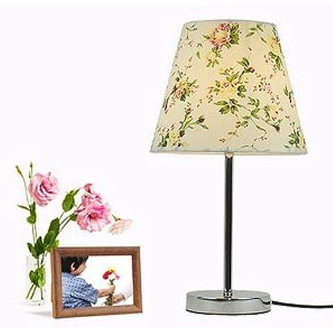 SBWYLT-Simple tabla pequeña lámpara boda regalo mesa lámpara living comedor dormitorio iluminación consola lámparas de noche