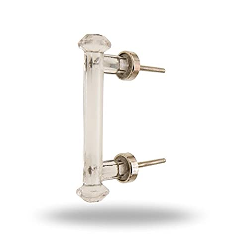 Montpellier Glass Handle Kitchen Furniture Cabinet Hardware Drawer Dresser and Wardroble Pull By Trinca-Ferro