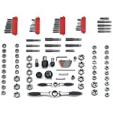 114 pc. Large SAE/Metric Ratcheting Tap and Die Set