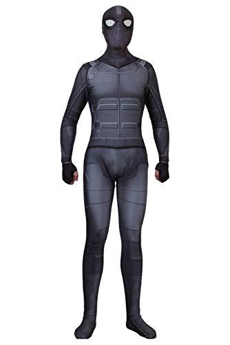 RedJade Superheld Spider-Man: Far from Home Uniform Jumpsuit Overall Bodysuit Outfit Cosplay Kostüm Herren S