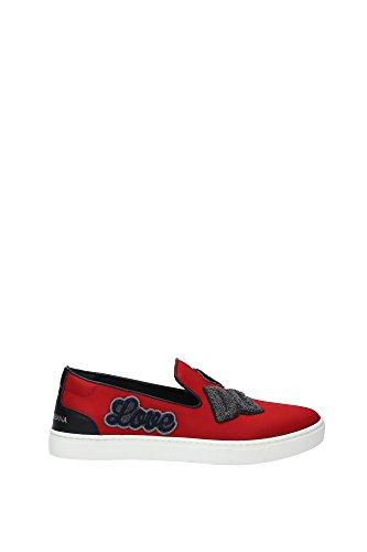 CS1352AL68089879 Dolce&Gabbana Pantoufle Homme Tissu Rouge Rouge