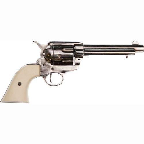 deko-colt-peacemaker-kal-45-nickel-mit-fingermulden-im-griff-usa-1873