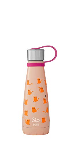 NO.1 COFFEE & TEA PRODUCTS S'IP BY S'WELL VACUUM INSULATED STAINLESS STEEL WATER BOTTLE, 295ML, COOL CATS BEST BUY REVIEWS UK