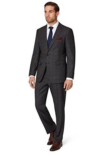 ermenegildo-zegna-cloth-herren-anzug-regular-fit-kohlengrau-kariert-2-teilig-54r-grau