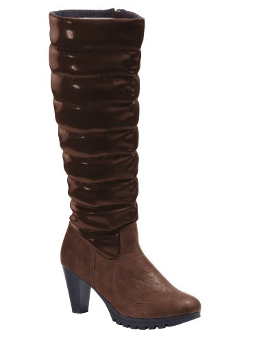 Chillany Stiefel, Brown Bottes Pour Dames