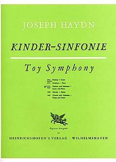 KINDERSINFONIE - arrangiert für zwei Violinen - Violoncello - (Kontrabass) - PERCUSSION - (+Klavier) [Noten / Sheetmusic] Komponist: HAYDN JOSEPH