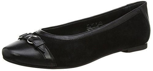 Hush Puppies Damen Allegra Grace Ballerinas, Schwarz (Black), 39 EU (Puppies-damen Schuhe Hush)