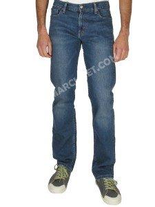 Jeans Levi's 504 Uomo Stretch Elasticizzato Regular Stright Fit Azzurro (W32L34)
