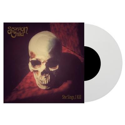 "SCORPION CHILD, She sings, I kill WHITE VINYL - 7""EP"