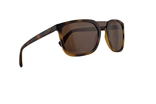 Emporio Armani EA4123 Sunglasses Matte Havana w/Brown Lens 58mm 508973 EA 4123