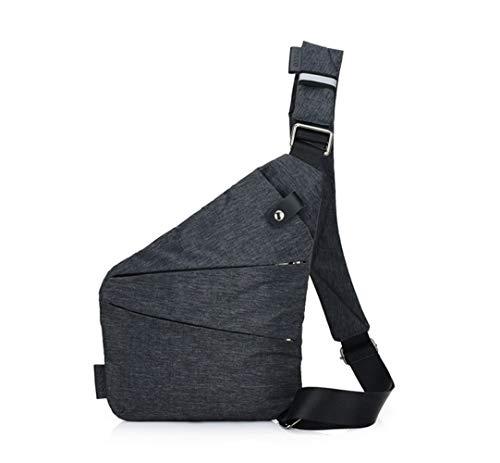 Ovecat Sling Bag Crossbody - Bolsas de Hombro para el Pecho, antirobo,...