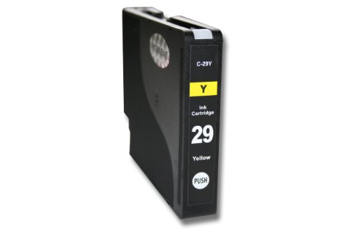 Cartouche d'encre / cartouche d'imprimante / cartouche d'impression jaune / yellow pour Canon Pixma PRO1, PRO-1, remplace CANON PGI-29Y