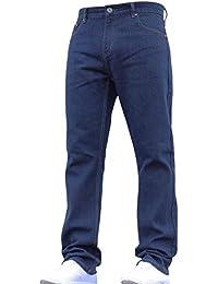 b62ad05b4fbd Mens Straight Leg Heavy Duty Work Basic 5 Pocket Plain Denim Jeans Big Tall  Pants All