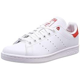 pretty nice aa945 755a6 adidas Stan Smith J G27631, Scarpe da Ginnastica Basse Unisex-Bambini, ...
