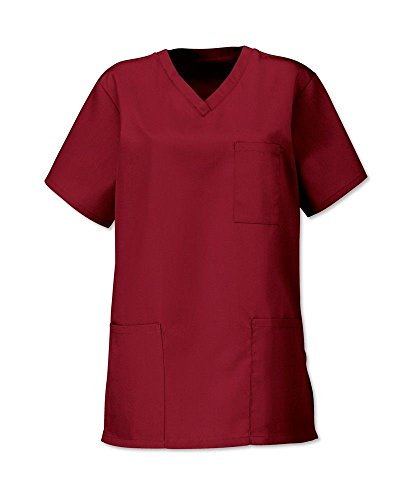Unisex Medical Hospital Scrub Tunic Tops size xs to 3xl