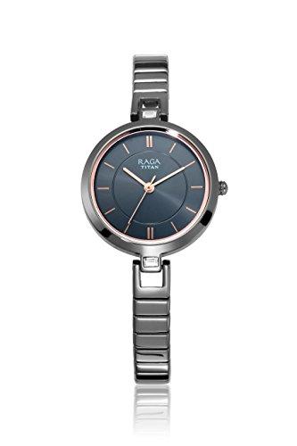Titan Raga Viva Analog Grey Dial Women's Watch-2603QM01