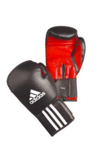 Adidas Boxhandschuhe RESPONSE BOXING 12 oz schwarz/weiß/rot