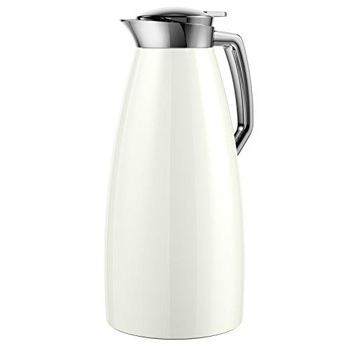 Emsa 514376 Plaza Quick Tip - Jarra isotérmica (1,5 l), color blanco