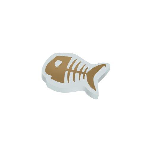 herlitz Radierer Fishbone V, aus PVC, formgestanzt VE=1