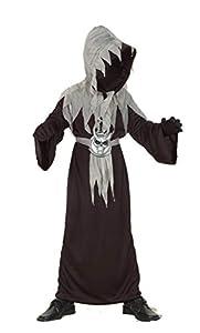 Ciao Master of Shadows - Disfraz para niños unisex, talla L (7-9 años), color negro, 61016.L