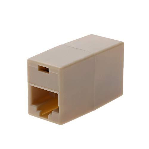 jumpeasy 2PCS nützliche dieses adapter neue ethernet lan kabel. netzwerk kabel anschluss extender stecker -
