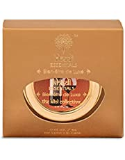 Khadi Essentials Luxurious Ayurvedic Wine Grapefruit Lip Butter with Lotus Flower Extract, Shea Butter & Coconut Oil, For Dry & Chapped Lips, 5gms Sulphates & Paraben Free Lip Balm