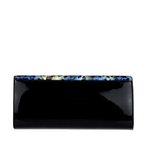 LAIDAYE Frau Clutch Abendtaschen Black