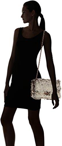 Chicca Borse 8484, Borsa a Spalla Donna, 28x15.5x9 cm (W x H x L) Beige (Taupe)
