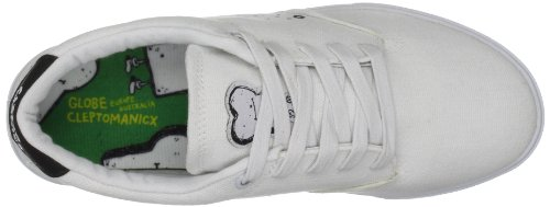 Globe Lighthouse, Chaussures de skate homme Blanc (White Canvas Clepto)