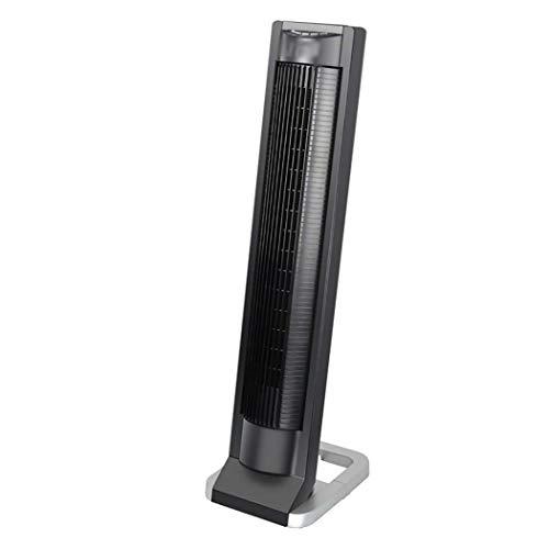 High Velocity Cooling Fan (WW&C Tower Fans, leafless Mute Air Circulator Fan, 3-Speed 3-Wind Mode Standing Fan mit Fernbedienung, Ideal für Home and Office, Black)