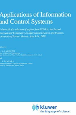 [A Selection of Papers from Info: Advances in Communications v. 1: Second International Conference on Information Sciences and Systems, University of Patras, Greece, July 9-14, 1979] (By: D.G. Lainiotis) [published: August, 1980]
