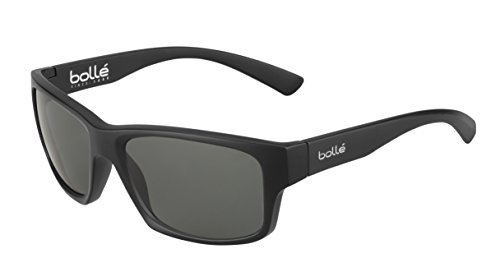 bollé Erwachsene Holman Sonnenbrille, Matt Black, Medium