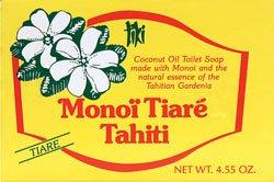 Lhuile de coco Savon, Tiare (Gardenia) Parfumeur, 4,55 oz (130