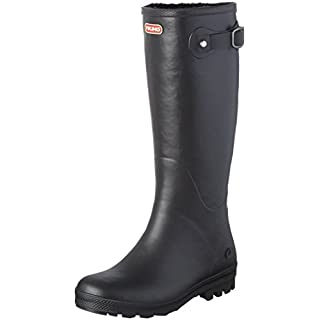 Viking, Damen Foxy Winter Langschaft Gummistiefel, Schwarz (Black 2), 38 EU