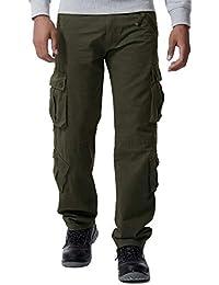 5b2fb96a66 Amazon.es  Cargo - Pantalones   Hombre  Ropa