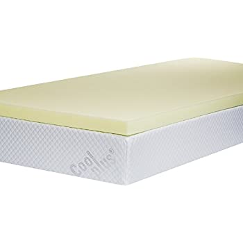 Memory Foam Mattress Topper 2 Inch Uk Single Amazon Co Uk